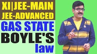 Gas State Boyle's law for XI | JEE Main | JEE Advance