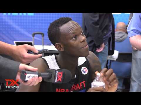 Dennis Schroeder Draft Combine Interview