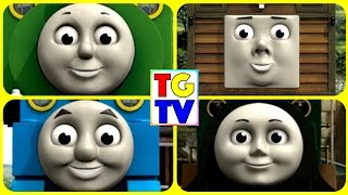 getlinkyoutube.com-Thomas & Friends (Many Moods Game) Percy, Toby, Thomas, Emily