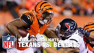 getlinkyoutube.com-Texans vs. Bengals | Week 10 Highlights | NFL