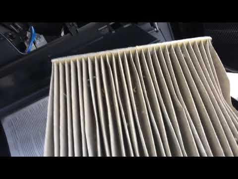 Замена салонного фильтра Тойота Королла 180 кузов
