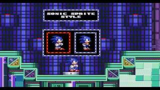 getlinkyoutube.com-Sonic 2 SMTP - Options zone & Green Greens zone