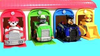 getlinkyoutube.com-Tayo the Little Bus Garage of Pups Paw Patrol Toys Surprise (꼬마버스 타요 장난감) (퍼피 구조대) 타요 장난감  тайо