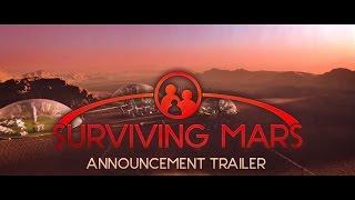 Surviving Mars - Bejelentés Trailer