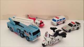 getlinkyoutube.com-TRANSFORMERS G1 PROTECTOBOTS - VINTAGE TOY REVIEW