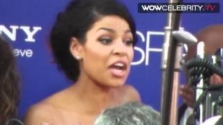 Zendaya and Jordin Sparks sizzling hot arriving at Sparkles Hollywood premiere