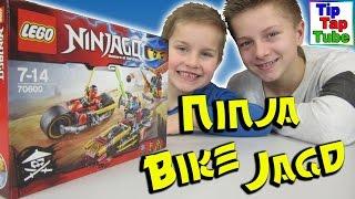 getlinkyoutube.com-Lego Ninjago 70600 Ninja Bike Jagd Unboxing Video Spielzeug spielen TipTapTube Kinderkanal