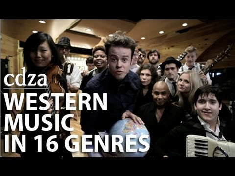 An Abridged History of Western Music in 16 Genres | cdza Opus No. 7