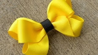 getlinkyoutube.com-HOW TO: Make a Six Loop Boutique Hair Bow Tutorial by Just Add A Bow