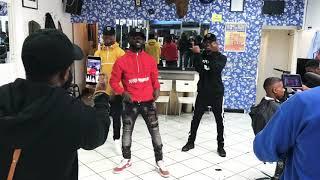 Ghana Boyz Dance to Davido #FIA