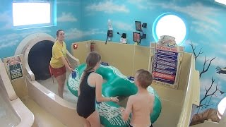 Scary Falls Water Slide at Sandcastle Waterpark