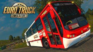 Ônibus Busscar Urbanuss Pluss - Euro Truck Simulator 2