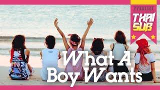 getlinkyoutube.com-[THAISUB] Apink - What A Boy Wants
