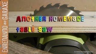 getlinkyoutube.com-Nueva sierra de mesa casera con la sierra circular. Make a homemade table saw with a circular saw.