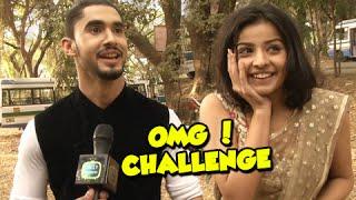 getlinkyoutube.com-Manasvini & Madhav Take The 'OMG' Challenge| Mahima Makwana & Laksh Lalwani | Adhuri Kahaani Hamari