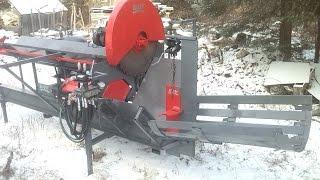 getlinkyoutube.com-Homemade Firewood Processor 2815 Final