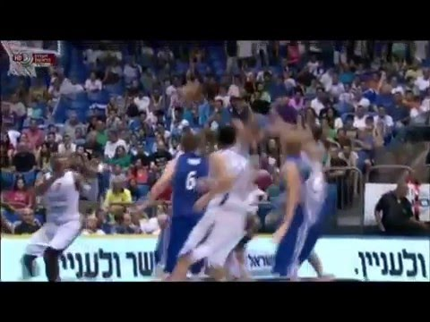 yogev ohayon  2012 EuroBasket qualifying highlights