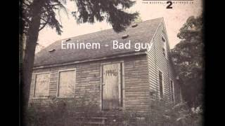 Eminem - Stan and Bad guy