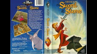 Opening To The Sword In The Stone 1986 VHS (Version 2)