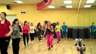 getlinkyoutube.com--ZUMBA FITNESS-Rabiosa(good for whole body work out)