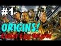 CoD Zombies EASTER EGG Origins on ORIGINS! [1] ★ CoD Black Ops 2 Zombies