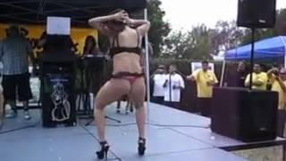 رقص خانوم ایرانی در خارج فوق العاده زیبا