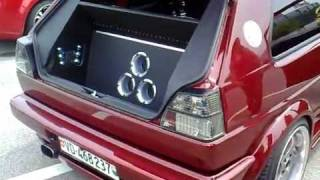 getlinkyoutube.com-Golf 2 DILI'S (sono) (Tuning Avry-Centre 2008)