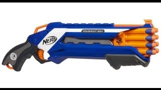 getlinkyoutube.com-NERF Rough Cut 2x4 Unboxing and Review