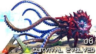 ARK: SURVIVAL EVOLVED - THE KRAKEN NEW TAMEABLE DINO !!! E06 (MODDED ARK PUGNACIA DINOS)