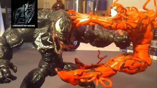getlinkyoutube.com-Spiderman Stop Motion- Venom vs Carnage Stop Motion