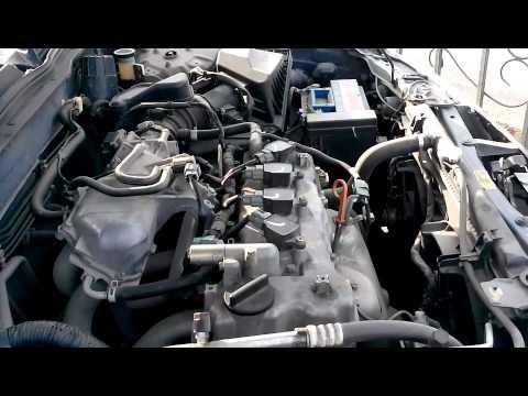Проверка подушек двигателя на nissan almera n16