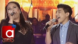 """getlinkyoutube.com-ASAP: Karla Estrada sings """"Through The Fire"""" with Darren Espanto"""