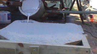 getlinkyoutube.com-Step by Step Aluminum Casting with Sodium Silicate Sand