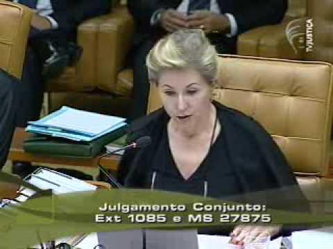 Voto da ministra Ellen Gracie no caso Battisti (13/20)