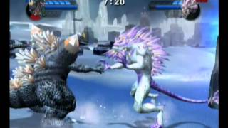 getlinkyoutube.com-Godzilla Unleashed #15 - Spacegodzilla vs Krystalak