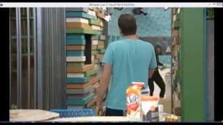 getlinkyoutube.com-Victoria and Cody Shaving Cream Fight- Big Brother 16