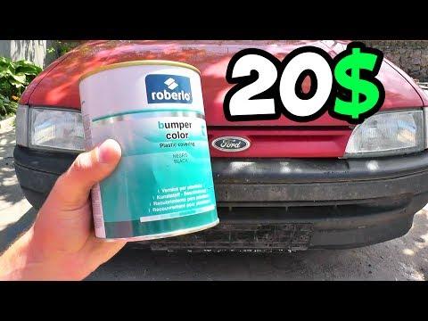 Как покрасить бампер за 20$ своими руками