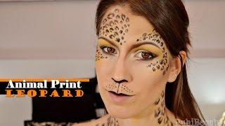 Maquillaje Fantasía | Animal print: Leopard