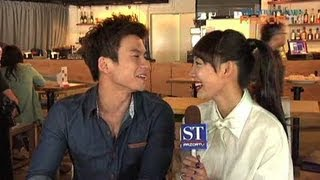 getlinkyoutube.com-Local actress Julie Tan's first kiss (That Girl in Pinafore Pt 1)