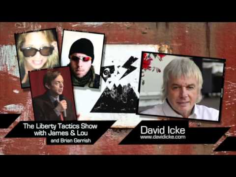 Liberty Tactics Episode 5 - David Icke, Brian Gerrish - Police State, Olympics, Cult of Saturn