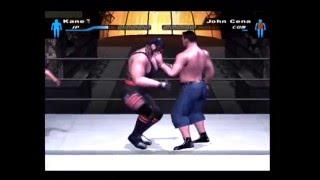 getlinkyoutube.com-Masked Kane VS John Cena Smackdown Here Comes The Pain Ps2