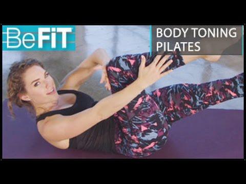 Body Toning Pilates Workout: Kara Griffin