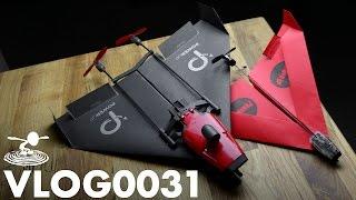 getlinkyoutube.com-PAPER AIRPLANE DRONE - POWERUP FPV -  | VLOG0031