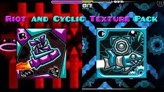 getlinkyoutube.com-Riot and Cyclic Texture Pack (Geometry Dash 2.02) (Steam and Android)