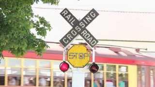 getlinkyoutube.com-Illinois Railway Museum's Railroad Crossing Signals