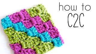 getlinkyoutube.com-How to crochet C2C | Corner to Corner crochet tutorial ♥ CROCHET LOVERS