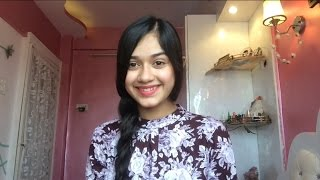 getlinkyoutube.com-My Daily Routine Hair Styles - Jannat Zubair Rahmani