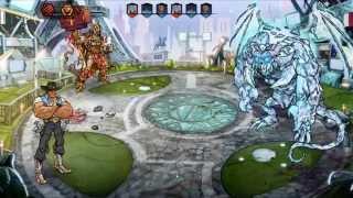 "getlinkyoutube.com-Mutants Genetic Gladiators Jefes División Omega ""Astrosurfer y Señor del Abismo"" (7-8) J.Cane"