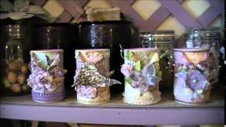 getlinkyoutube.com-Linnie Blooms DT Project Altered Tin Cans