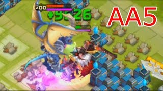 getlinkyoutube.com-Castle Clash - Vague AA5 + détails